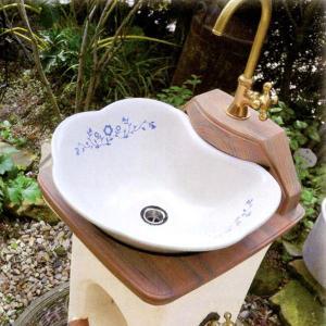 スタンドウォッシュリリー オレンジ ディーズガーデン ディーズデコ 立水栓|fourseasons|03