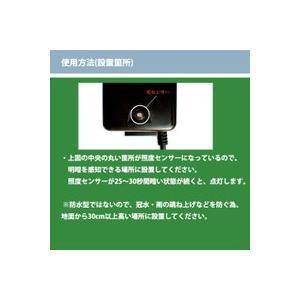 電源トランス60W 照度センサー付 【B054】 DJ-60-12W-1 ガーデンライト用変圧器|fourseasons|03