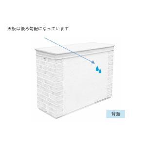 物置 ディーズシェッドカンナミニ フレンチシック シャビーブルー レンガ調 FRP素材|fourseasons|07