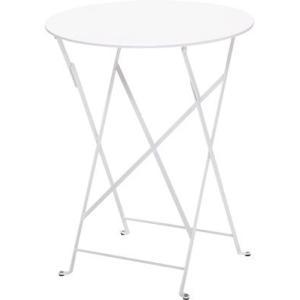 ビストロテーブル60 01ホワイト ガーデンファニチャー フェルモブ ビストロシリーズ|fourseasons
