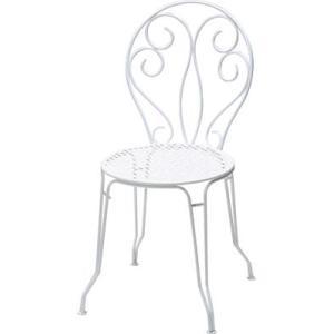 モンマルトルチェア 01ホワイト ガーデンファニチャー フェルモブ|fourseasons