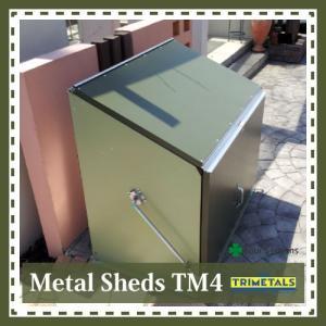 TM4 ガーデナップ メタルシェッド 物置 倉庫 輸入品|fourseasons