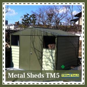 TM5 ガーデナップ メタルシェッド|fourseasons