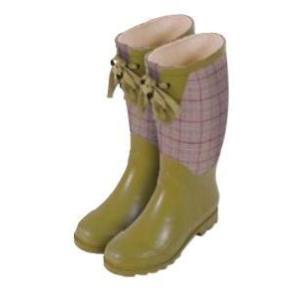 モダン 『ケインズバーガンディー』 ローラアシュレイ ガーデン 長靴 レインブーツ ウェリントンブーツ|fourseasons