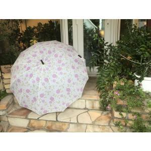 数量限定 シティー『エリンチョークピンク』 ローラアシュレイ ガーデン 雨傘 アンブレラー|fourseasons