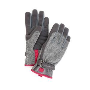 手袋 ガーデニンググローブ バーゴン&ボール Love The Glove Grey Tweed fourseasons