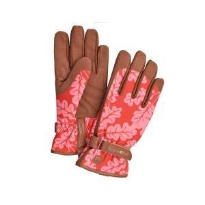 手袋 ガーデニング ガーデングローブ バーゴン&ボール オークリーフ柄 Love The Glove|fourseasons