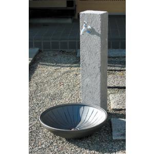 立水栓ユニット 芦野石 タイプ:ANS-2 ※代引交換不可|fourseasons