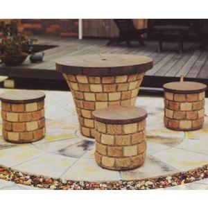 グリルテーブルユニット テーブル本体 ウッドクリートトップ|fourseasons