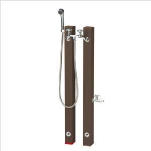 シャワーポール レヴウッドタイプ 水用・補助蛇口|fourseasons