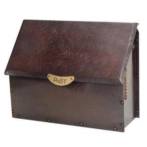 銅製ポストP-8 郵便ポスト|fourseasons