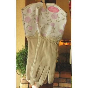 【アウトレット】ライトウェット ゴントリット 『エリンチョークピンク』 ローラアシュレイ ガーデン 手袋 グローブ fourseasons