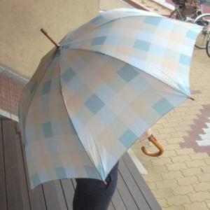 『チェック ダック エッグ』 ローラアシュレイ ガーデン 雨傘 アンブレラー|fourseasons
