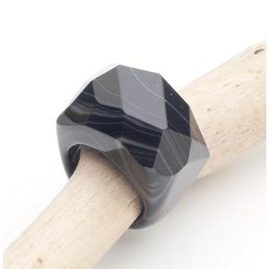 オニキスリング13.5-14号 Onyx Ring 7(US)|fourstones