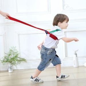 子供セーフティーハーネス 幼児 迷子防止ひも補助器具牽引ロープ 手首 反ロスト安全縄 幼児 安全 子供保護用