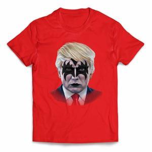 【アメリカ 大統領 ドナルド トランプ ロックスター】キッズ 半袖 Tシャツ by Fox Repu...