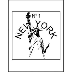 【ニューヨーク・自由の女神】ポストカード