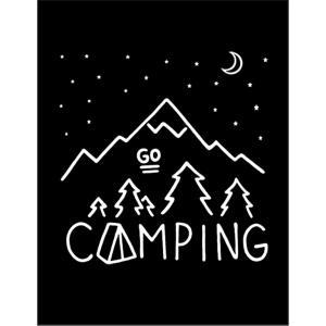 【キャンプ】ポストカード