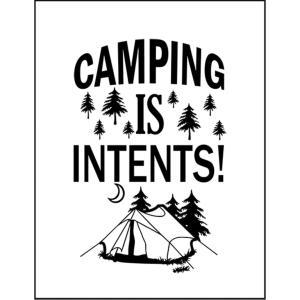 【キャンプはサイコー!】ポストカード