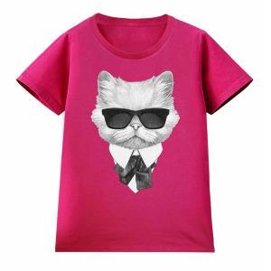 年中使える定番半袖Tシャツ。綿の生地が通気性が良く、肌にも優しい着心地です。  プリントは細かなデザ...
