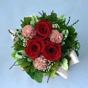 プリザーブドフラワー プレゼント ギフト お祝い 結婚祝い 出産祝い 新築祝い お誕生日祝い ホワイトデー おしゃれ ロココ|fp-kaori2003