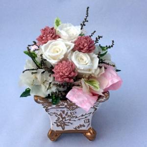 プリザーブドフラワー プレゼント ギフト お祝い 結婚祝い 出産祝い 新築祝い お誕生日祝い ホワイトデー おしゃれ ロココ|fp-kaori2003|12