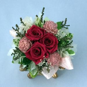 プリザーブドフラワー プレゼント ギフト お祝い 結婚祝い 出産祝い 新築祝い お誕生日祝い ホワイトデー おしゃれ ロココ|fp-kaori2003|14
