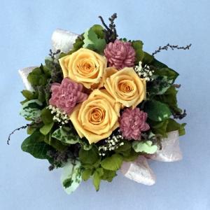 プリザーブドフラワー プレゼント ギフト お祝い 結婚祝い 出産祝い 新築祝い お誕生日祝い ホワイトデー おしゃれ ロココ|fp-kaori2003|16