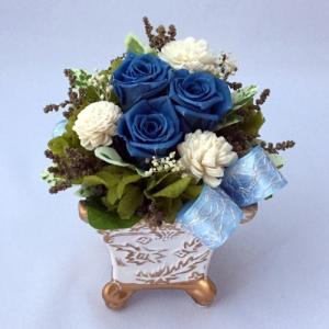 プリザーブドフラワー プレゼント ギフト お祝い 結婚祝い 出産祝い 新築祝い お誕生日祝い ホワイトデー おしゃれ ロココ|fp-kaori2003|20