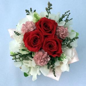 プリザーブドフラワー プレゼント ギフト お祝い 結婚祝い 出産祝い 新築祝い お誕生日祝い ホワイトデー おしゃれ ロココ|fp-kaori2003|03