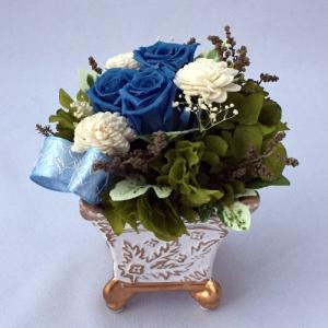 プリザーブドフラワー プレゼント ギフト お祝い 結婚祝い 出産祝い 新築祝い お誕生日祝い ホワイトデー おしゃれ ロココ|fp-kaori2003|21
