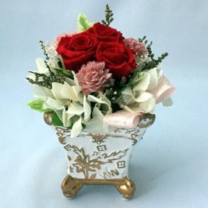 プリザーブドフラワー プレゼント ギフト お祝い 結婚祝い 出産祝い 新築祝い お誕生日祝い ホワイトデー おしゃれ ロココ|fp-kaori2003|04