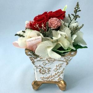 プリザーブドフラワー プレゼント ギフト お祝い 結婚祝い 出産祝い 新築祝い お誕生日祝い ホワイトデー おしゃれ ロココ|fp-kaori2003|05
