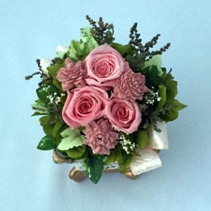 プリザーブドフラワー プレゼント ギフト お祝い 結婚祝い 出産祝い 新築祝い お誕生日祝い ホワイトデー おしゃれ ロココ|fp-kaori2003|06