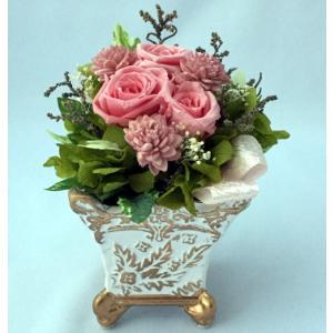 プリザーブドフラワー プレゼント ギフト お祝い 結婚祝い 出産祝い 新築祝い お誕生日祝い ホワイトデー おしゃれ ロココ|fp-kaori2003|07