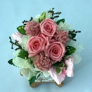 プリザーブドフラワー プレゼント ギフト お祝い 結婚祝い 出産祝い 新築祝い お誕生日祝い ホワイトデー おしゃれ ロココ|fp-kaori2003|09