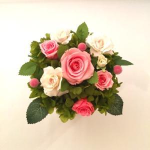 プリザーブドフラワー プレゼント ギフト お祝い 結婚祝い 新築祝い 退職祝い 喜寿 ヴィーナス fp-kaori2003 02