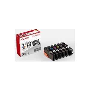 BCI-381s(BK/C/M/Y/GY)+BCI-380s 6色パック(小容量) 2344C004 純正  代引はご利用出来ません fpc