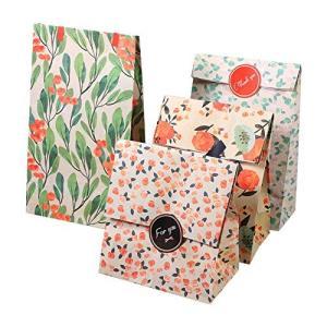TOPINCN 【12個セット】花束のような紙袋 ギフトバッグ プレゼント ラッピング 紙袋 ラッピング おしゃれ 紙収納? fr-online