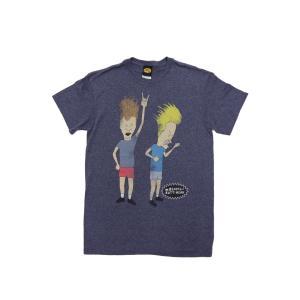 メール便なら送料164円 BEAVIS AND BUTT-HEAD / T-SHIRTS ビーバス・アンド・バットヘッド Tシャツ MTV 海外アニメ