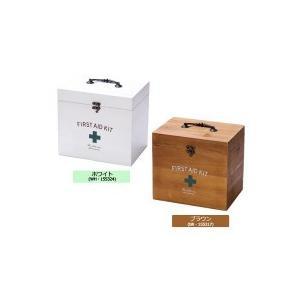 ファーストエイドボックス 2段 ホワイト(WH・155324)|fragileya