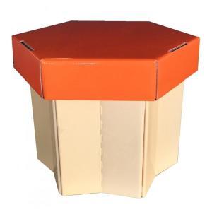 折りたたんで持ち運びできるイス マッシュルームスツール ナメタケ 2個セット fragileya