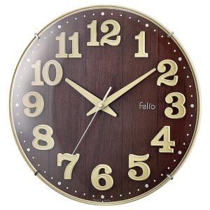 Felio(フェリオ) 壁掛け時計 ブリュレ アイボリー FEW181 IV-Z fragileya