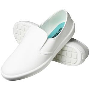 弘進ゴム 布靴(厨房靴) シェフメイト α-3000 白 25.5cm E0634AA|fragileya