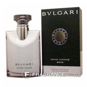 【送料無料】ブルガリ プールオム ソワール アフターシェーブローション 100ML |fragrance-freak