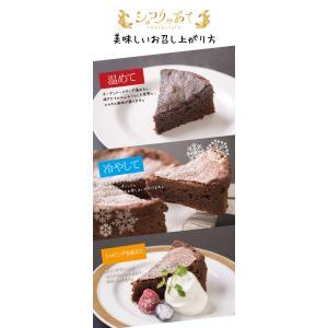 ガトーショコラ チョコレートケーキ ショコりゃあて 3号 贈答品 スイーツ ギフト チョコレート 贅沢 濃厚 八丁味噌 名古屋 名古屋土産 常温|fraicheur|04