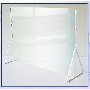 飛沫防止・コロナ感染対策にアクリル板パネル・パーテーション「ディフェンスパネル600×900mm」