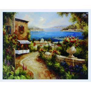 アート ポスター フレーム付 【Marina Di Leuca I】 Artist/Bell.Peter Size/610×763mm|frame-shop