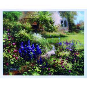 アート ポスター フレーム付 【The Secret Garden】 Artist/Gabriela Size/610×763mm|frame-shop