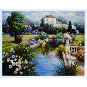 アート ポスター フレーム付 【Afternoon Reflections】 Artist/Horwich Size/610×763mm|frame-shop